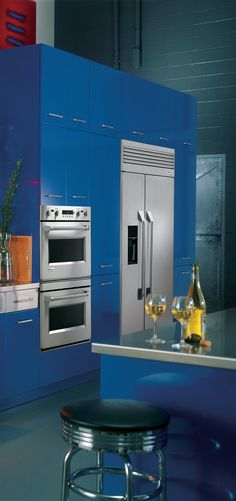 Bold and beautiful design. #Kitchen