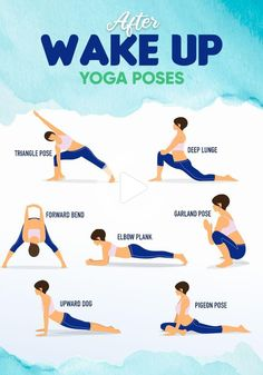 What do you think of Yoga? Here is a simple yoga program for you! Also, morning yoga makes your day better. Exercise Fitness, Gym Workout Tips, Physical Fitness, At Home Workouts, Fitness Tips, Fitness Facts, Physical Exercise, Muscle Fitness, Excercise