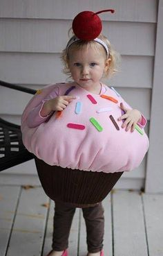 Pink Cupcake Costume for Toddler