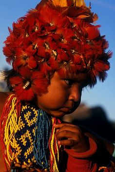* Child ethnicity Karajá _ Amazon Rainforest _ Brazil *