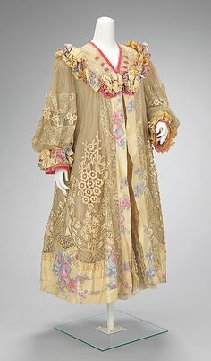 Coat, Evening  Martial & Armand   Date: ca. 1905 Culture: French Medium: silk
