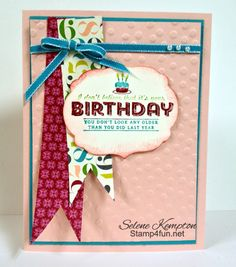 You don't look any older! by StampingSelene - Cards and Paper Crafts at Splitcoaststampers
