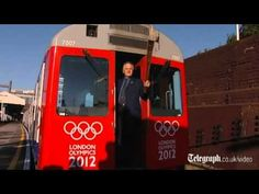VIDEO:  OLYMPIC FLAME RIDES THE TUBE !!! July 24, 2012 - London, England  (Oh, how I wish I was there!!!) - the Tube sends its best wishes!