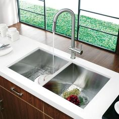 modern kitchen sink ... Kitchen Sink and Faucet - Modern - Kitchen Sinks - new york - by VIGO
