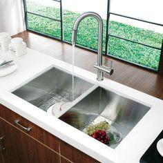 modern kitchen sink ... Kitchen Sink and Faucet - Modern - Kitchen Sinks - new york - by VIGO