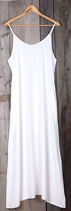 It takes so little effort to look elegant once you slip into this solid color beauty! Hot sale at Only $18.99! With chic slip design and a classic cut like this it's not hard to see why! All you have to do is add some classy heels and a fab shiny necklace!