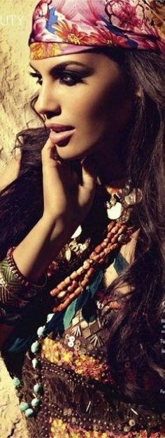 Gypsy love…or Boho…or whatever it is called today... <3