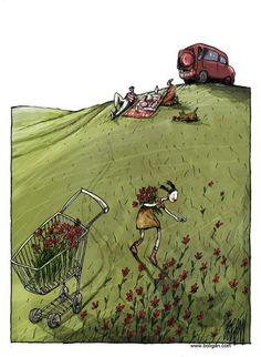 Le 15 Inquietanti Vignette che Riflettono la Nostra Vita | Eticamente.net