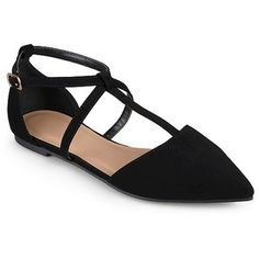 Women's Journee Collection Keiko D'orsay T-Strap Flats