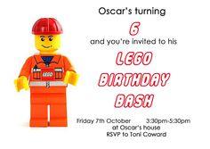 lego party invitation back