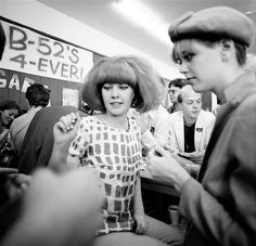 The B-52's:  Kate and Cindy, Santa Cruz, CA, 1980