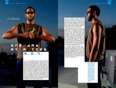 Feedback magazine layouts