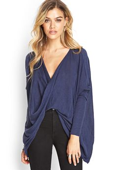 Twisted Front Sweater #SummerForever