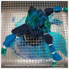 iLoveToCreate Blog: DIY Tie Dyed Infinity Loop Scarf
