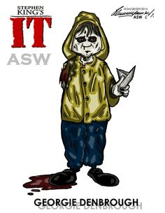 Pennywise Georgie Gosth Stephen King`s IT FanArt by AlexGangster20Comic on DeviantArt