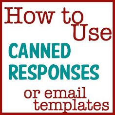 How to use Email Templates on Gmail {via TheCraftyMummy.com}  #email #gmail #tips