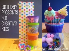 What's your approach to birthday presents: extravagant or simple? And what do you buy kids who already have plenty? Ideas here for birthday presents for creative kids.