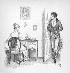 The original Hugh Thomson illustrations for Pride and Prejudice. These line the halls of Chawton Cottage, where Jane Austen lived from 1809 until her death.