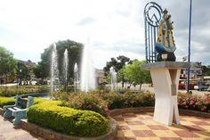 Praça em Pinhalzinho