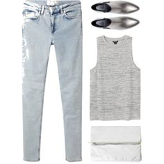 """SILVER LINEN"" by eldianna on Polyvore"