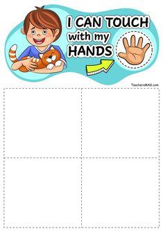 Five Senses Sorting Activity for Preschool, Pre-K, and Kindergarten Students Five Senses Preschool, My Five Senses, Body Preschool, Senses Activities, Preschool Learning Activities, Sorting Activities, Preschool Worksheets, Teaching Kids, Kids Learning