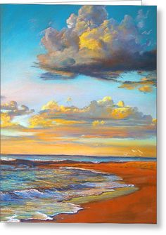 Marengo Sunrise Greeting Card by Lynda Robinson