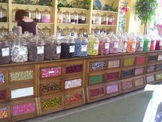 My girlfriend has one of these old candy counters in her home....wish I could find one....I love it!