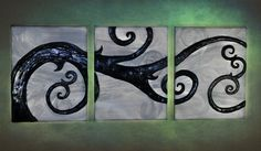 """""""Twisted in the Wind"""" by CarrieAnn and Kathy Jones. Has a Nightmare Before Christmas feel to it...LOVE it"""