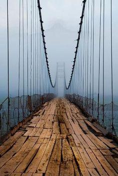 Carrick-a-Rede Rope Bridge, Northern #Ireland
