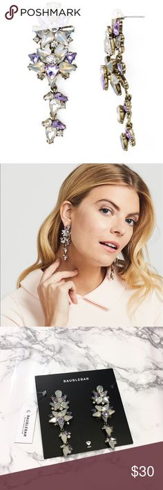 BaubleBar Earrings NWOT✨ BaubleBar statement earrings. Brand new with tags!                       •n o  t r a d e s• •s m o k e  f r e e / p e t  f r e e  h o m e•   •s a m e / n e x t  d a y  s h i p p i n g• Baublebar Jewelry Earrings
