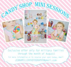 Candy Shop Mini Sessions | Panama City, FL :: family photographer