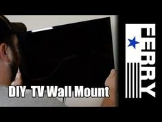 Ⓕ DIY TV Wall Mount (ep7) - YouTube