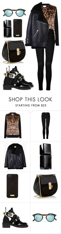 """Untitled #530"" by coockie-and-black-forest-gateaus ❤ liked on Polyvore featuring Patrizia Pepe, J Brand, Acne Studios, Illamasqua, Henri Bendel, Chloé, Balenciaga and Krewe"