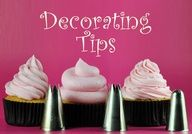 Cupcake Decorating 101: Cupcake Decorating Tips