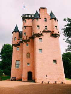 I want to go to there! Craigiever Castle in Scotland