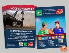 Flyer desenvolvido para a empresa CJ - Automotiva, o intuito é noticiar a parceria da tradicional empresa Lageana com a maior rede de autopeças do Brasil a Rede Âncora. Impresso em papel couché 90gr. O material está foi distribuído na feira e na rede sua rede, que possui 5 lojas.