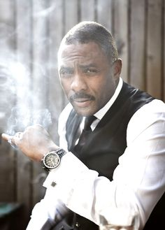 Idris Elba...taking sexy to a WHOLE new level!