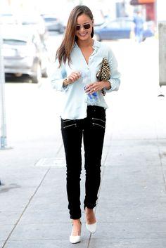 http://thefashionsupernova.com/2014/01/16/jamie-chung-in-an-american-eagle-denim-shirt-paige-edgemont-jeans/