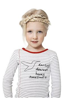 shirt designed by photographer Mary McCartney with Danish children's wear company Mini A Ture