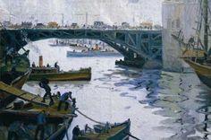 Puente sobre Barracas