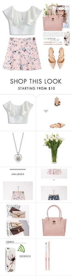 """""""Summer style - YesStyle.com"""" by yexyka ❤ liked on Polyvore featuring Chicwish, NDI, Rinka Doll, ANS, Huawei, Summer and yesstyle"""