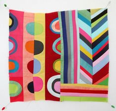 the red thread :: create, inspire, share | INSPIRATION :: Lu Summers quilts | http://www.theredthreadblog.com