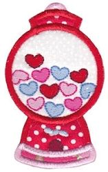 Loving You 17 Applique - 2 Sizes! | Valentine's Day | Machine Embroidery Designs | SWAKembroidery.com Bunnycup Embroidery