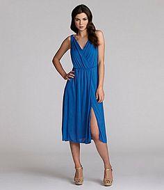 BCBGMAXAZRIA Surplice Dress #Dillards