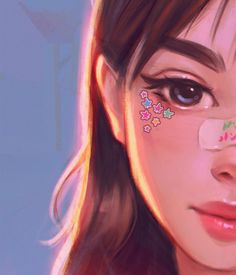 , Angel Ganev in 2020 Cute Art Styles, Cartoon Art Styles, Pop Art Girl, Cute Girl Drawing, Beautiful Fantasy Art, Digital Art Girl, Pretty Art, Anime Art Girl, Portrait Art