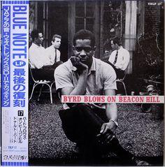 DONALD BYRD / BYRD BLOWS ON BEACON HILL / BLUE NOTE / TOSHIBA JAPAN OBI