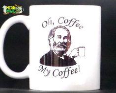 Walt Whitman Funny O Captain Parody Coffee Mug- 11 oz Whitman O Captain Gift