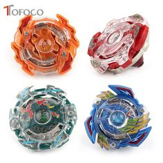 [ 10% Off ] TOFOCO 4 New Stlyes Beyblade 4D Gyro Spinning Top BURST 3056 With Launcher Original Box Metal Plastic Fusion Gift Toys For Kids