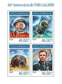 MOZ 14104 a Youri Gagarine (Vostok-1, descent module of Vostok-1)