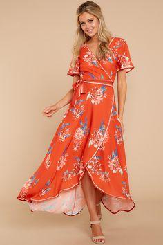 876b88f25ba Chic Spicy Orange Print Dress - Trendy Orange Print Dress - Dress -  44.00  – Red Dress Boutique